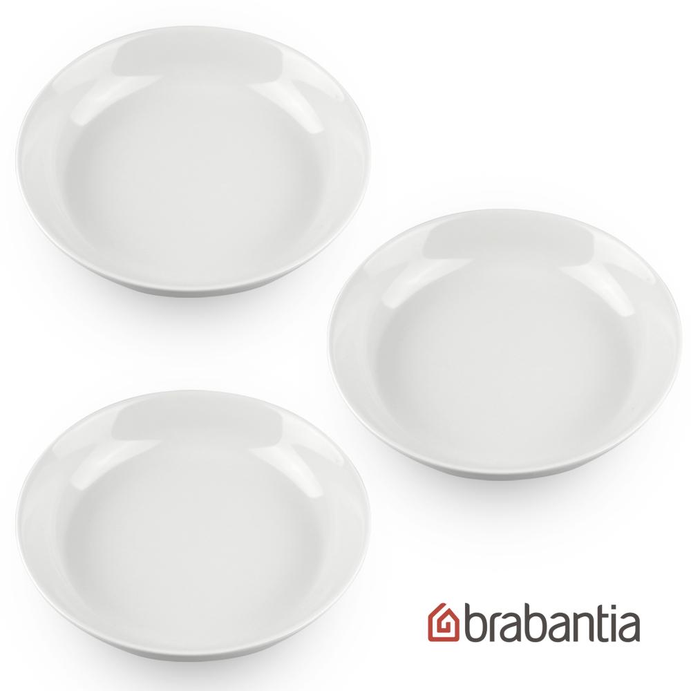 ~Brabantia~湯盤三入^(21cm白^)