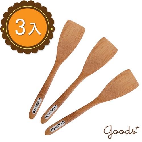 ~goods ~簡單  竹製調理刀點心刀 3入 _WK02 方扁型