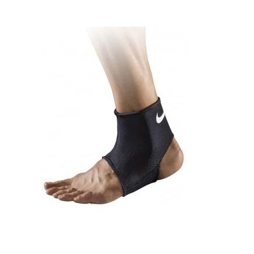 NIKE 護踝套2.0-亞規 -配件 路跑 慢跑 黑白 L