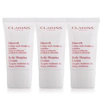 CLARINS 克蘭詩 比基尼美體霜 (15ml)X3入