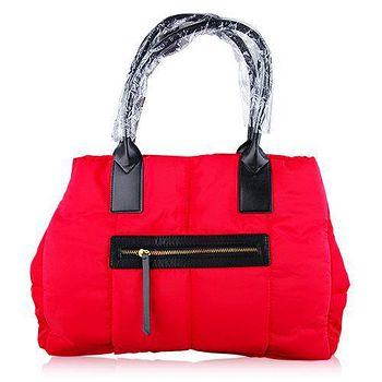 CLARINS 克蘭詩 經典紅色條紋空氣包 (45x27cm)