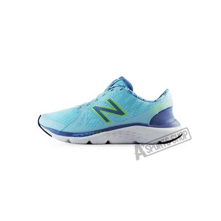 NEW BALANCE (女) 紐巴倫 輕量跑鞋 慢跑鞋 藍/白-W690RG4
