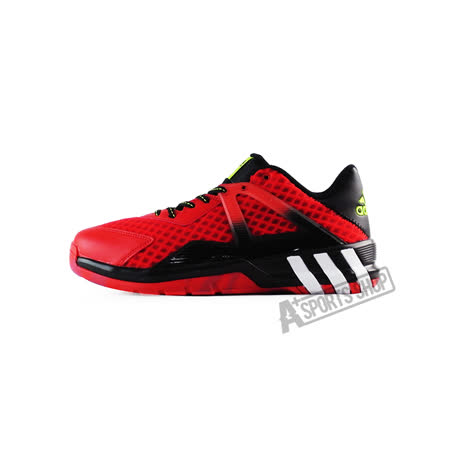 ADIDAS (男)CRAZYQUICK 3.5 STREET 籃球鞋 紅-AQ8483
