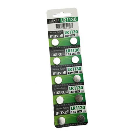 日本第一品牌水銀電池maxell水銀電池  maxell LR1130(二卡20入)