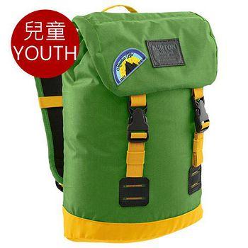 BURTON Youth Tinder 兒童 戶外後背包 - 綠黃