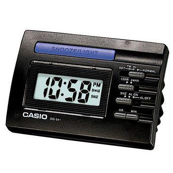 CASIO卡西歐 數字型電子鬧鐘 -黑色 DQ-541-1A