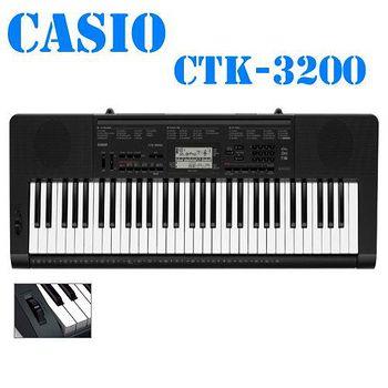 CASIO卡西歐 61鍵電子琴 -黑 CTK-3200