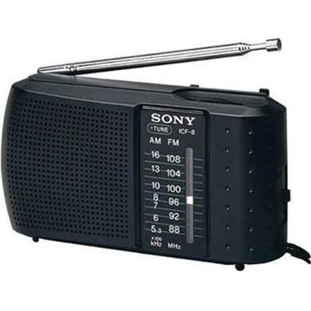 SONY ICF-8 AM/FM 收音機 _ 喇叭播放