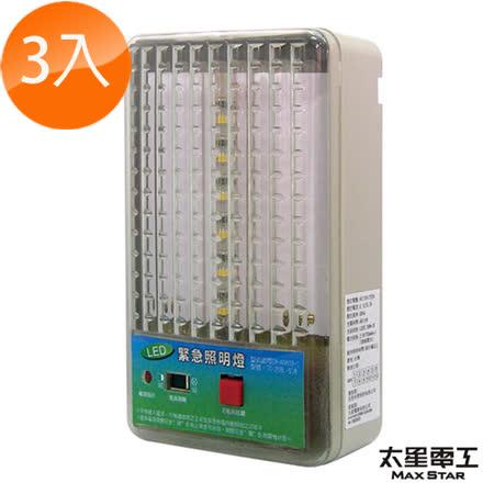 【團購三入】夜神200-18LED緊急照明燈-個檢(暖白光)