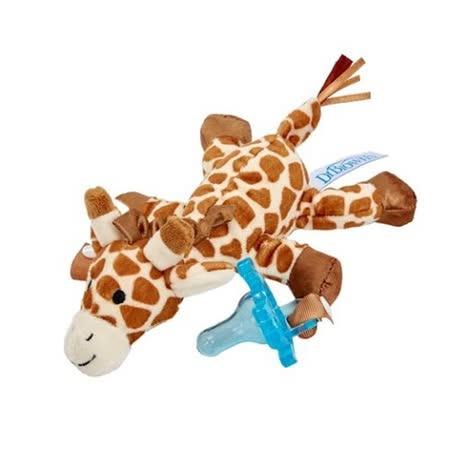 GMP BABY 美國DR.BROWN 奶嘴娃娃長頸鹿+早產/新生兒專用矽膠安撫奶嘴