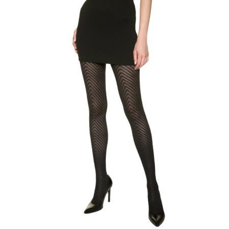 DIM-Madame so Fashion幾何圖騰絲襪