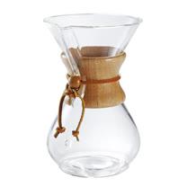 美國Chemex-經典手沖咖啡濾壺(木把.六人份)