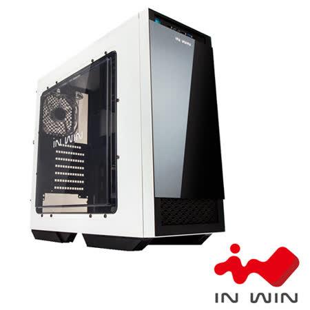 IN WIN 503 2大4小電腦機殼-白黑