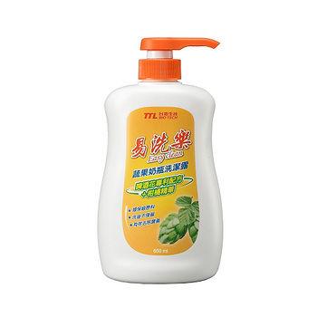易洗樂蔬果奶瓶洗潔露650ml