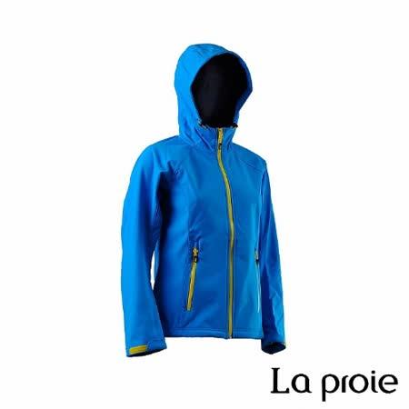 La proie 女 多功能防風防潑軟殼衣(蔚藍色)