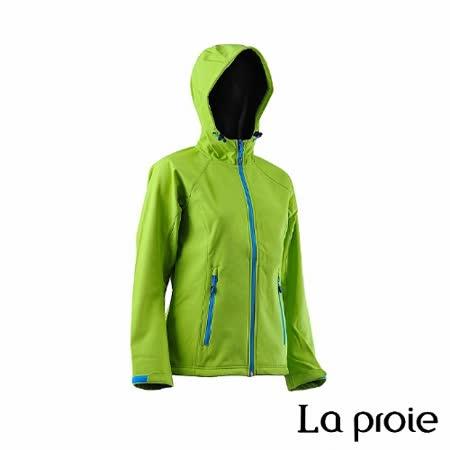 La proie 女 多功能防風防潑軟殼衣(芥末黃)
