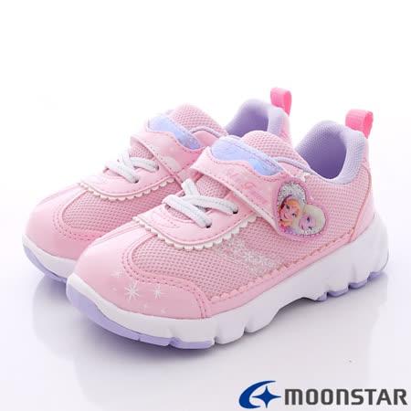 日本Carrot機能童鞋-日本版冰雪奇緣限量款-DN11624粉-(15cm-19cm)
