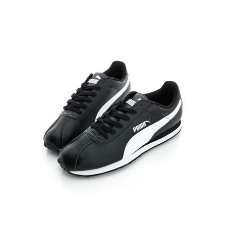 PUMA(男)慢跑鞋-黑-36011601