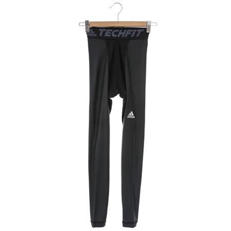 adidas(男)緊身長褲-黑-AI3341