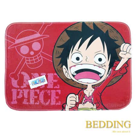 【BEDDING】 海賊王-元氣小子 居家防滑腳踏墊.
