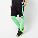 FIVE UP(男)-雙面穿吸濕排汗籃球褲-黑