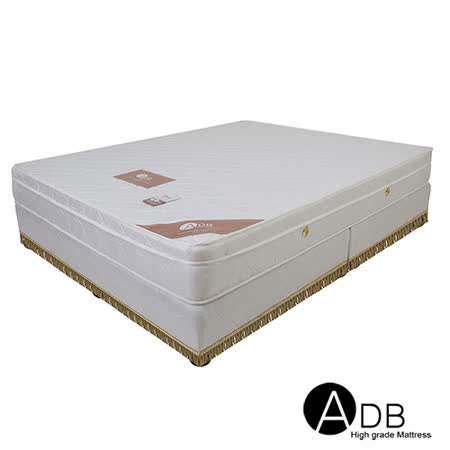 【ADB】Paula寶拉3M防潑水三線獨立筒床墊/雙人5尺