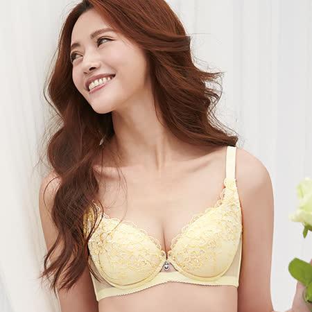 【蕾黛絲】桐花靠過來 D-E罩杯內衣(燦爛黃)
