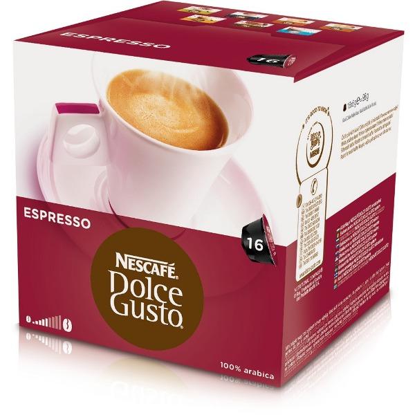 雀巢 義式濃縮咖啡膠囊^(Espresso^)^(16顆盒^)