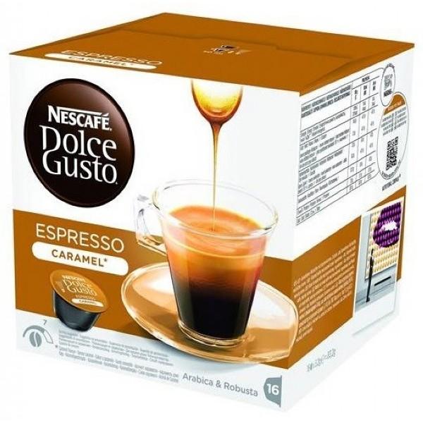 雀巢 義式濃縮焦糖咖啡膠囊^(Espresso Caramel^)^(16顆盒^)