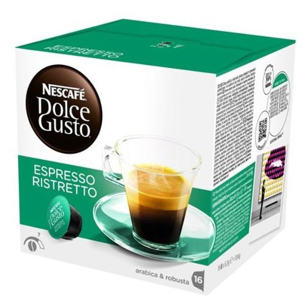 雀巢 義式濃縮濃厚咖啡膠囊^(Espresso Ristretto^)^(16顆盒^)