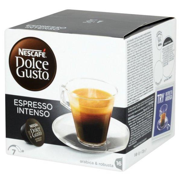 雀巢 義式濃縮濃烈咖啡膠囊^(Espresso Intenso^)^(16顆盒^)