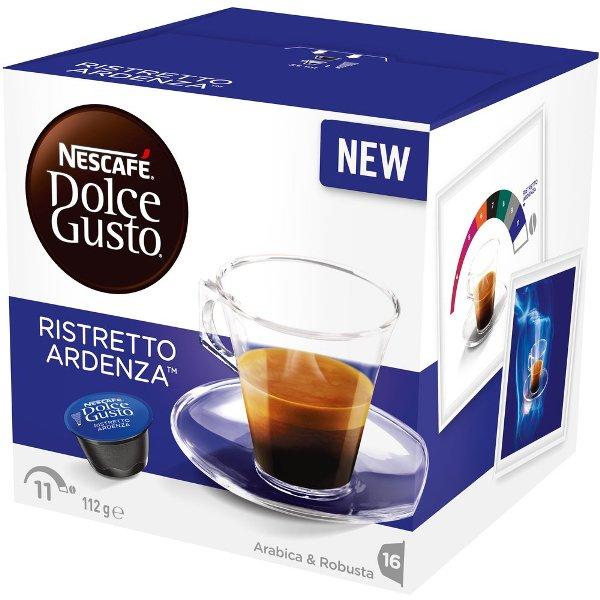 雀巢 義式濃厚深焙咖啡膠囊^(Espresso Ardenza^)^(16顆盒^)