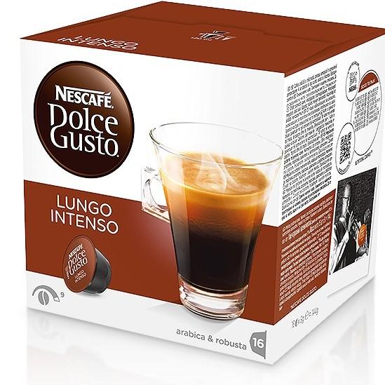 雀巢 美式濃黑濃烈咖啡膠囊^(Lungo Intenso^)^(16顆盒^)