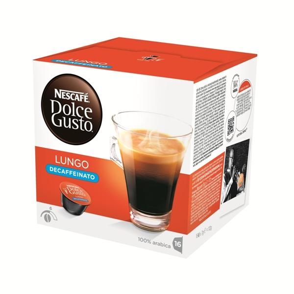 雀巢 低咖啡因美式濃黑咖啡膠囊^(Lungo Decaffeinato^)^(16顆盒^)