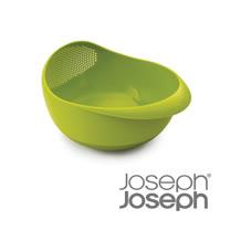 Joseph Joseph英國創意餐廚★浸泡洗滌兩用濾籃(大綠)-40063