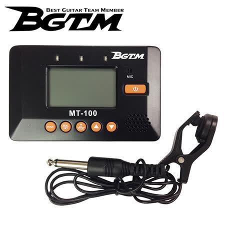 ★集樂城樂器★BGTM MT-100 三合一調音器 (調音/節拍/拾音)~限量