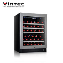 VINTEC 單門單溫酒櫃 Seamless Stainless Steel V40SGES3