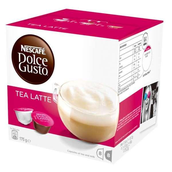雀巢 紅茶拿鐵膠囊^(Tea Latte^)^(16顆膠囊盒^)