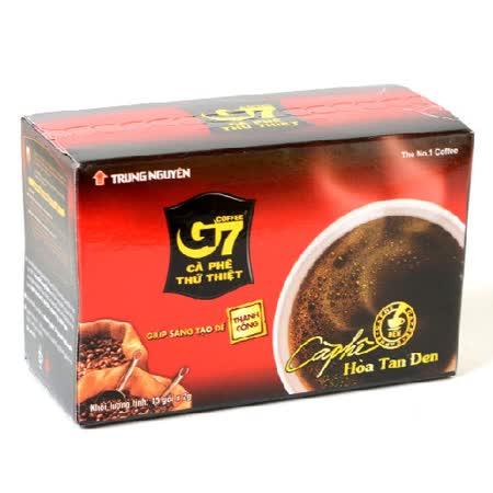 【G7】黑咖啡120包組(8盒裝)