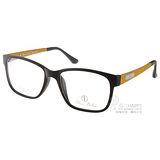 ALAIN DELON眼鏡 法式簡約款(黃-土黃) #AD20262 C6