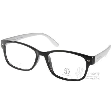 ALAIN DELON眼鏡 簡約百搭款(黑-銀) #AD20310 BS2