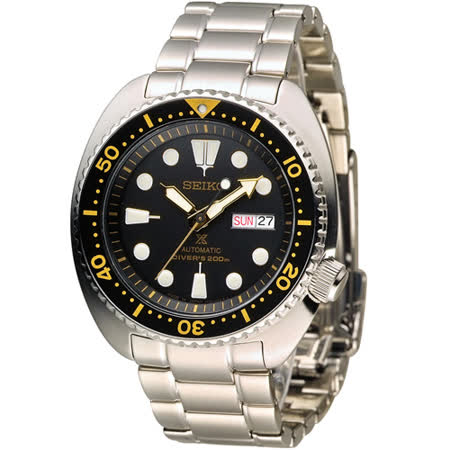 SEIKO PROSPEX 經典鮑魚型200M潛水自動機械錶 4R36-04Y0K SRP775J1