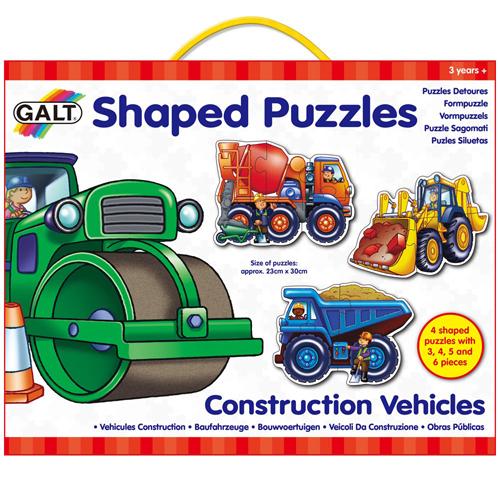 英國GALT 拼圖~工程車