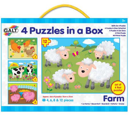 英國GALT我的第一組拼圖-農場