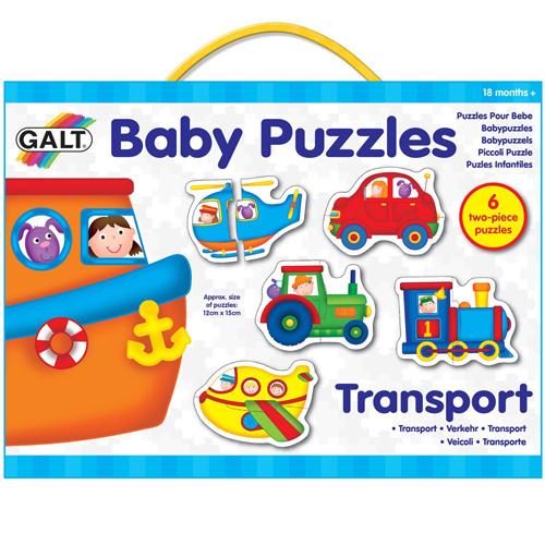 英國GALT寶寶拼圖~交通工具