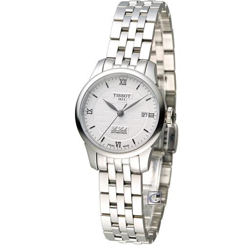 天梭 TISSOT Le Locle 囍字限量機械腕錶 T41118335