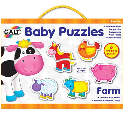 英國GALT寶寶拼圖~農場