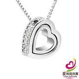 【愛無限珠寶金坊】永恆愛戀 - 水晶項鍊