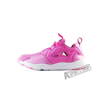 REEBOK (女) FURYLITE 休閒鞋 紅/白-AQ9504