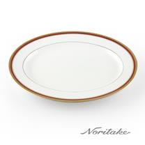 【NORITAKE】華漾風華金邊橢圓盤(29.5cm)